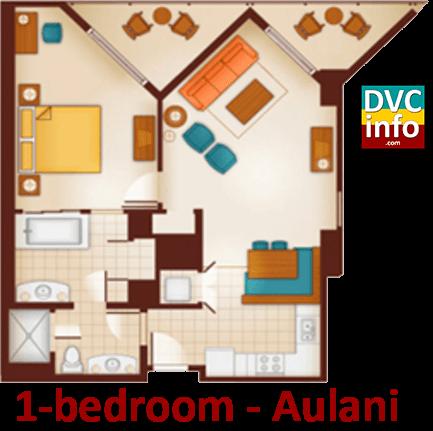 Aulani Standard Room Microwave Aulani Three Bedroom Grand