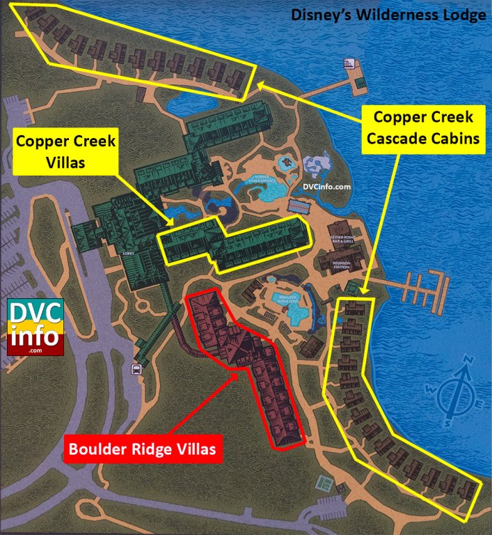 Copper Creek Villas Rooms: Quantity And Size