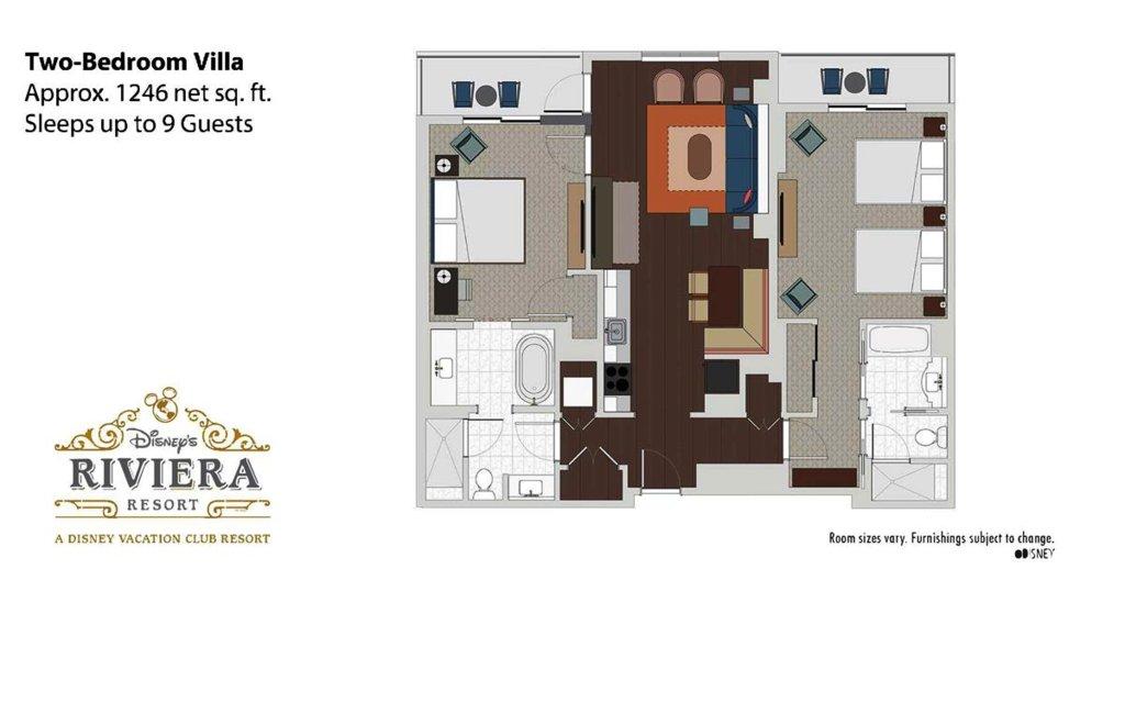 Disney S Riviera Resort Villa Floor Plans Dvcinfo Community